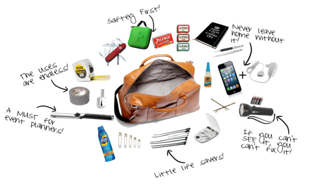 What S In My Bag 10 Items Every Event Planner Needs