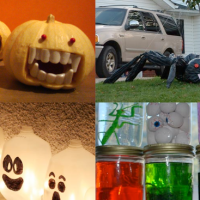 Simple DIY Halloween Decor Projects to Make With Your Kids!