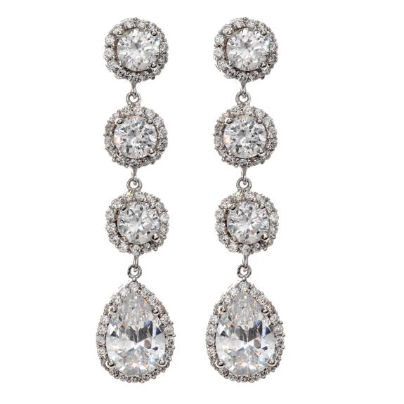 Stunning Wedding Earrings Drop 575 x 575 · 123 kB · jpeg