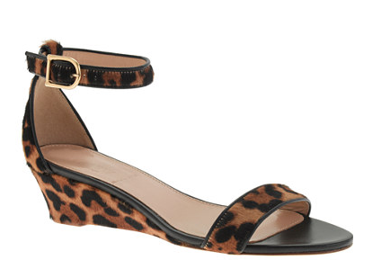 Lillian calf hair low wedges - http://www.jcrew.com/womens_category/shoes/sandals