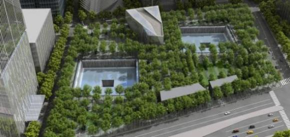 9/11 Memorial Rendering via http://www.911memorial.org/about-memorial
