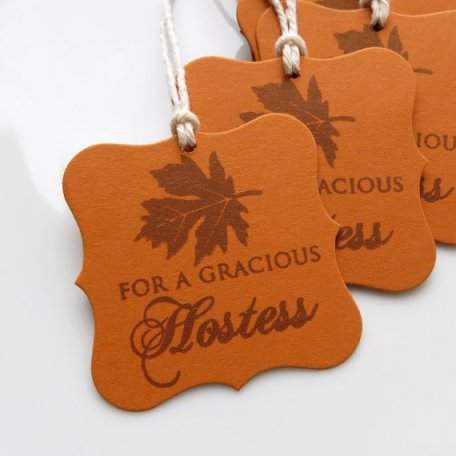 Hostess gift tags via http://catchmyparty.com
