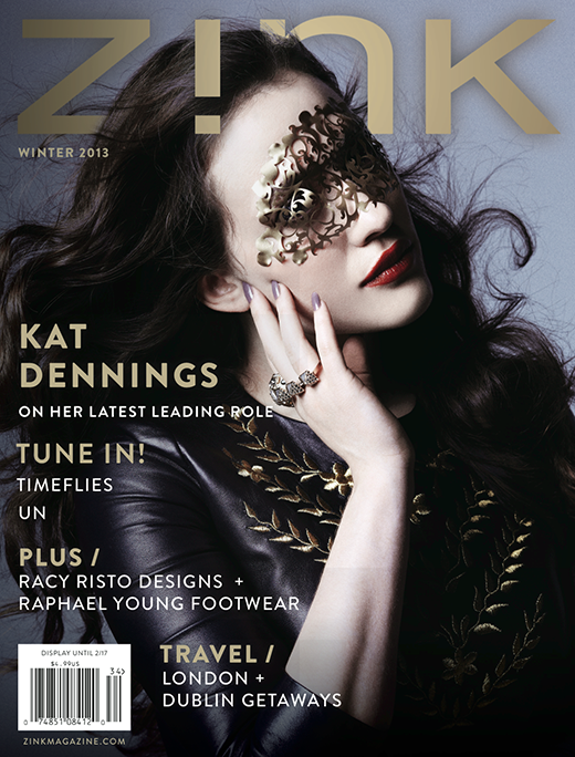 What do you think of this month's Zink Magazine cover girl, Kat Dennings?