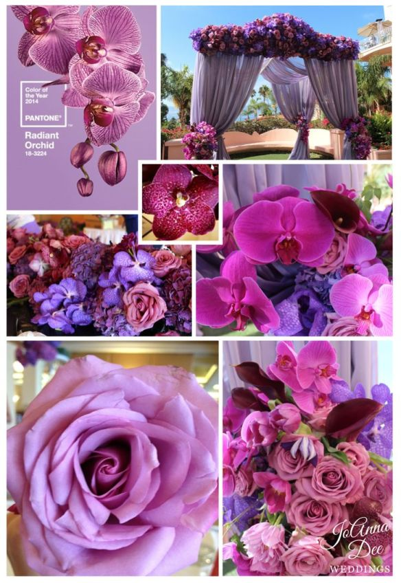 Visit joannadeeweddings.com for this example of purple and pink design.